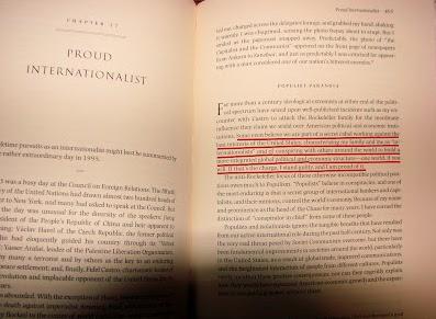 Ομολογία Ροκφέλερ: Ε, ναι λοιπόν, συνωμοτούμε κατά της ανθρωπότητας...